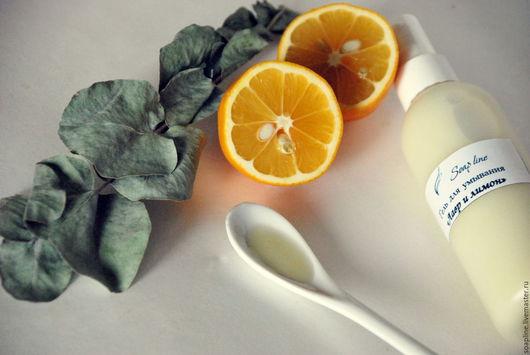 """Для снятия макияжа ручной работы. Ярмарка Мастеров - ручная работа. Купить """"Лавр и лимон"""" гель для умывания для жирной и проблемной кожи. Handmade."""