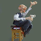 Куклы и игрушки ручной работы. Ярмарка Мастеров - ручная работа Шарж-2. Handmade.