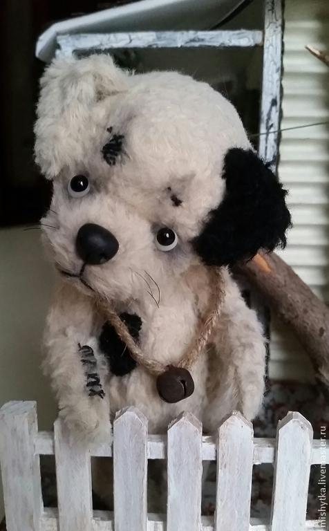 Мишки Тедди ручной работы. Ярмарка Мастеров - ручная работа. Купить Дружок. Handmade. Бежевый, вискоза Германия