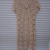 Одежда ручной работы. Ярмарка Мастеров - ручная работа Вязаный крючком кардиган. Handmade.
