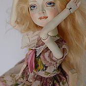 Материалы для творчества ручной работы. Ярмарка Мастеров - ручная работа Авторский видео-курс по созданию полушарнирной куклы. Handmade.