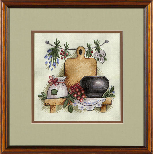 """Натюрморт ручной работы. Ярмарка Мастеров - ручная работа. Купить """"Целебные травы"""". Handmade. Оливковый, мешочек для трав, дары природы"""