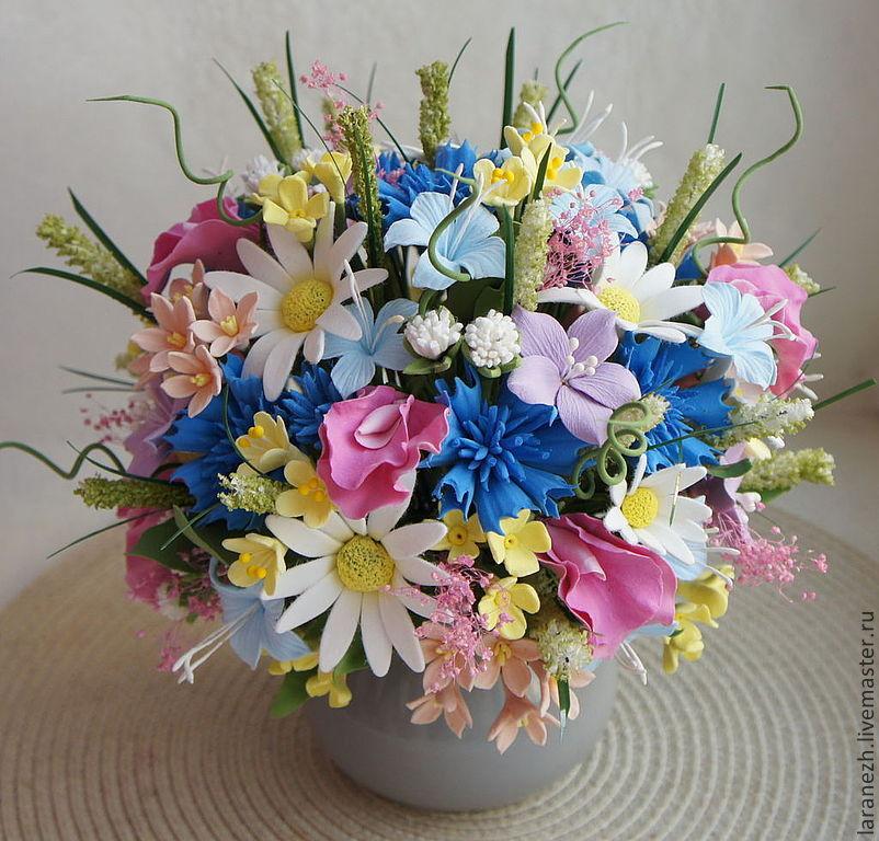 Полевые цветы своими руками фото 200