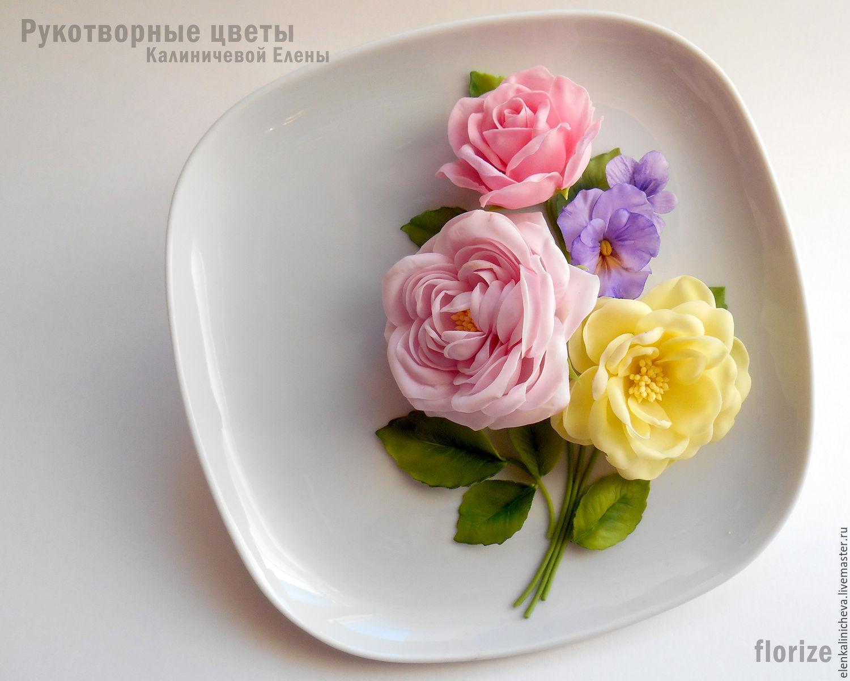 Елена цветы ручной работы