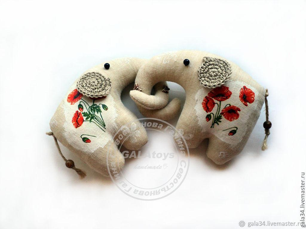 Elephant. textile toy, Stuffed Toys, Volgograd,  Фото №1