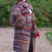 Одежда handmade. Livemaster - original item warm cardigan-coat. Handmade.