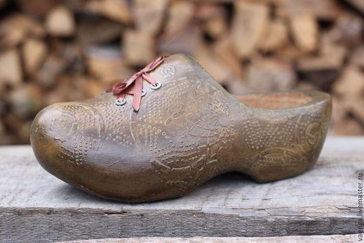 """Шкатулки ручной работы. Ярмарка Мастеров - ручная работа. Купить """"Волшебный башмак"""" Интерьерное украшение. Handmade. Голландия, рождество, шкатулка"""