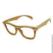 """Очки ручной работы. Ярмарка Мастеров - ручная работа Деревянные очки ручной работы """"LookPorey"""". Handmade."""