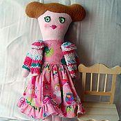 Куклы и игрушки ручной работы. Ярмарка Мастеров - ручная работа Кукла Леночка. Handmade.