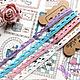 Шитье ручной работы. Кружево узкое цветное с зубчатым краем 13 цветов. Лоскутная стрекоза (Quiltstrekoza). Интернет-магазин Ярмарка Мастеров.