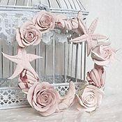 Для дома и интерьера handmade. Livemaster - original item A wreath of interior polymer clay. candle holder.. Handmade.