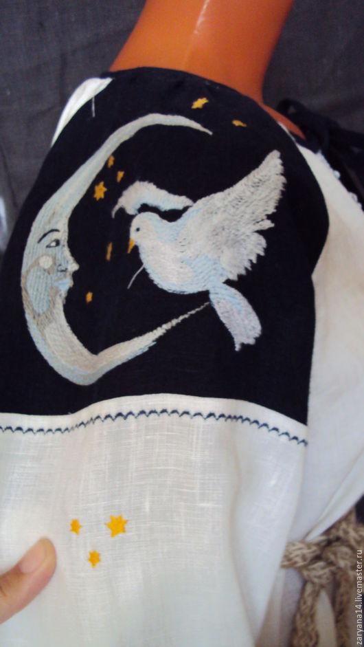 """Платья ручной работы. Ярмарка Мастеров - ручная работа. Купить Ночная рубашка """"Доброго сна"""". Handmade. Разноцветный, длинное платье"""