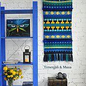 Для дома и интерьера handmade. Livemaster - original item Wool Wall Hanging Accent Crocheted Rug. Handmade.