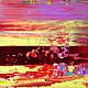 Абстракция ручной работы. Абстрактная живопись. Glow - 3.. Анна. Интернет-магазин Ярмарка Мастеров. Желтый, абстракция