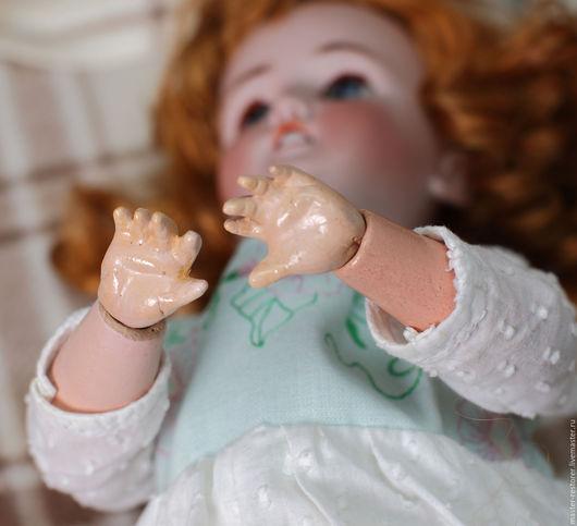 Реставрация. Ярмарка Мастеров - ручная работа. Купить Кисти рук для антикварных кукол. Handmade. Реставрация, грунт