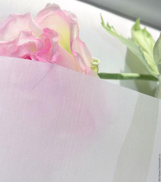 Крепдешин №14 чистый шелк. Купить крепдешин с заводской обработкой для цветоделия. Купить ткань для цветов. Японские материалы для шелковой флористики. Ярмарка Мастеров