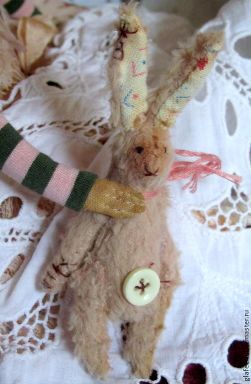 Лица текстильных кукол