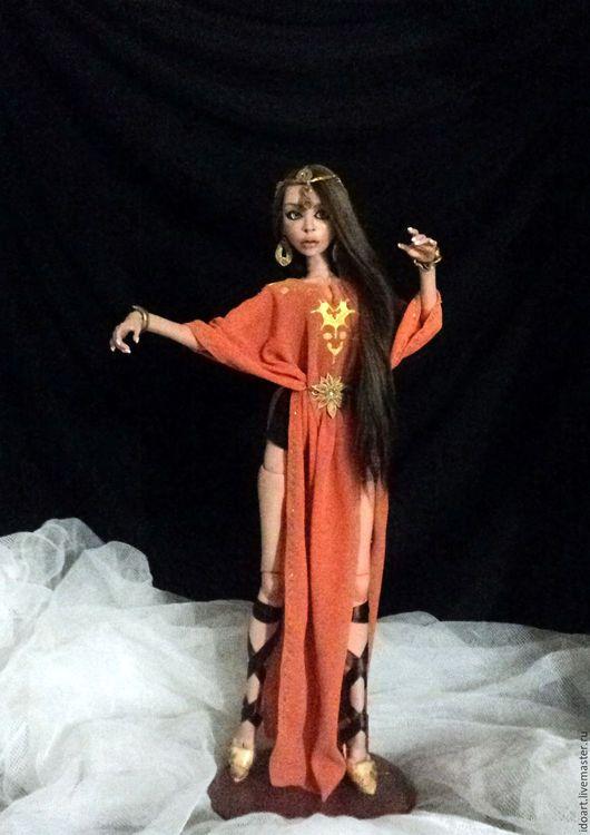 Коллекционные куклы ручной работы. Ярмарка Мастеров - ручная работа. Купить Нежная Лале - очень гибкая шарнирная кукла из полиуретана, бжд. Handmade.