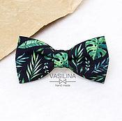 handmade. Livemaster - original item Tropical bow tie, tropical print. Handmade.