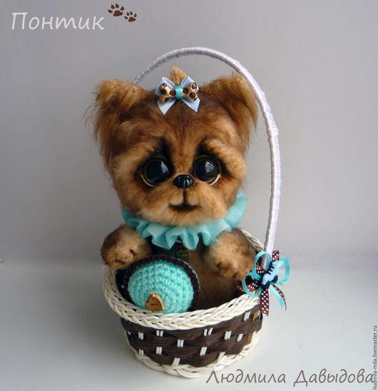 Людмила Давыдова, вязаная собака, вязаная собачка, вязаные собаки, купить собаку, йорк, игрушка собака, игрушка собачка, мягкая игрушка собака, мягкая игрушка в подарок, йоркширский терьер