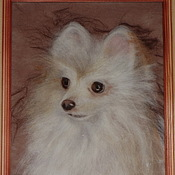 Картины ручной работы. Ярмарка Мастеров - ручная работа Портрет любимца. Handmade.