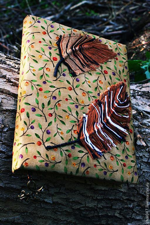 Блокноты ручной работы. Ярмарка Мастеров - ручная работа. Купить Легкость. Handmade. Коричневый, блокнот для записей, блокнот в мягкой обложке