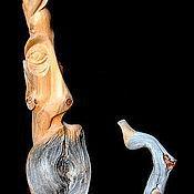 """Для дома и интерьера handmade. Livemaster - original item """"Человек и саксофон"""" (cкульптурная композиция). Handmade."""