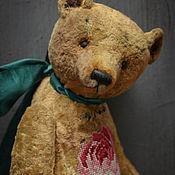 Куклы и игрушки ручной работы. Ярмарка Мастеров - ручная работа Золотой мишка.. Handmade.
