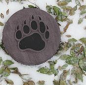 Музыкальные инструменты handmade. Livemaster - original item The bear`s paw. Tambourine Vedic. 25 cm. Handmade.