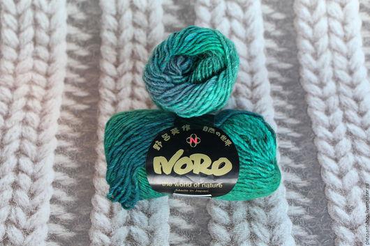 Вязание ручной работы. Ярмарка Мастеров - ручная работа. Купить Noro Kama 03. Handmade. Морская волна, норо кама