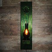"""Для дома и интерьера ручной работы. Ярмарка Мастеров - ручная работа Настенный светильник  """" Ирлан """". Handmade."""
