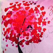 """Подушки ручной работы. Ярмарка Мастеров - ручная работа Подушка """"Влюбленные коты"""". Handmade."""