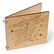 Открытки ручной работы. Ярмарка Мастеров - ручная работа Открытка деревянная с гравировкой. Handmade.