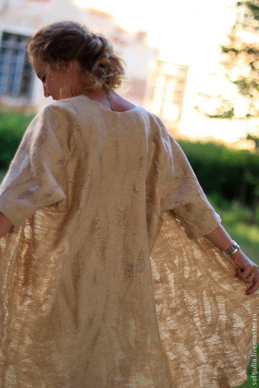 """Верхняя одежда ручной работы. Ярмарка Мастеров - ручная работа. Купить """"Над пропастью во ржи"""" Комплект платье и летнее пальто. Handmade."""