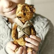 Куклы и игрушки ручной работы. Ярмарка Мастеров - ручная работа мишка-тедди Гаврош. Handmade.