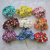 Материалы для творчества ручной работы. Ярмарка Мастеров - ручная работа 9 расцветок Лютики 10 штук. Handmade.
