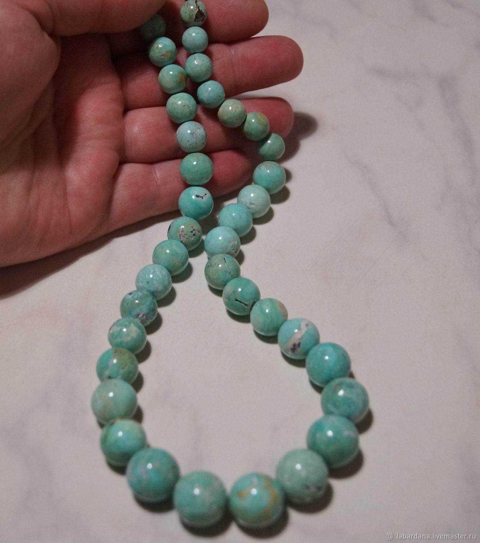 Колье, бусы ручной работы. Ярмарка Мастеров - ручная работа. Купить Старинное ожерелье из бирюзы 485.60 карат. Handmade.