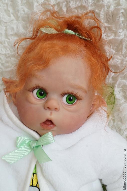 Куклы-младенцы и reborn ручной работы. Ярмарка Мастеров - ручная работа. Купить Феечка!!. Handmade. Мятный, генезис