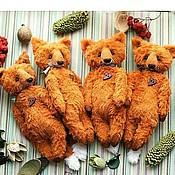 Куклы и игрушки ручной работы. Ярмарка Мастеров - ручная работа Карманные лисы. Или сумочные. Или подушечные.. Handmade.