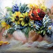 Картины и панно ручной работы. Ярмарка Мастеров - ручная работа Цветочное настроение. Handmade.