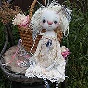 Куклы и игрушки ручной работы. Ярмарка Мастеров - ручная работа Текстильная кукла Эмбер. Handmade.