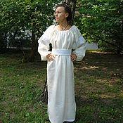 Одежда ручной работы. Ярмарка Мастеров - ручная работа Женское  платье в русском стиле. Handmade.