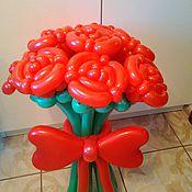 Подарки на 8 марта ручной работы. Ярмарка Мастеров - ручная работа Подарки на 8 марта: Букет алых роз. Handmade.