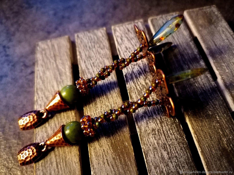 Earrings handmade: Little clowns , Stud earrings, Sevastopol,  Фото №1
