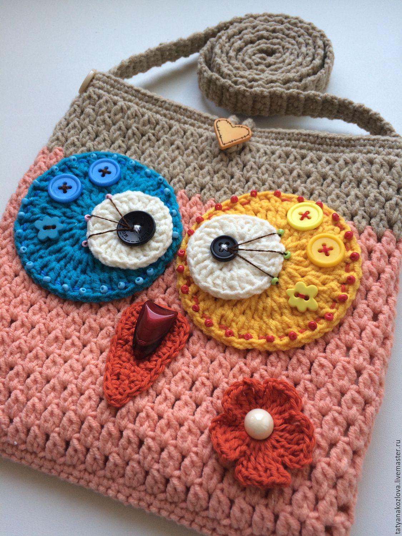 Вязание для девочек сумки 75