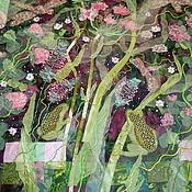 """Картины и панно ручной работы. Ярмарка Мастеров - ручная работа Панно """"Цветение"""". Handmade."""