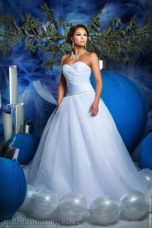 Свадебное платье ✨`Милена`✨ цвет белый размер 42 -44-46