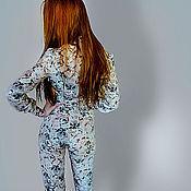 Одежда handmade. Livemaster - original item silk jumpsuit