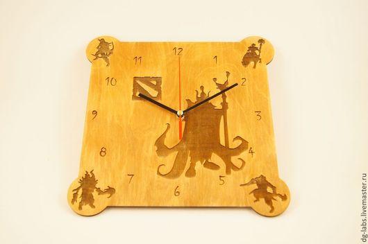 Часы для дома ручной работы. Ярмарка Мастеров - ручная работа. Купить Часы с игровой тематикой. Handmade. Часы настенные