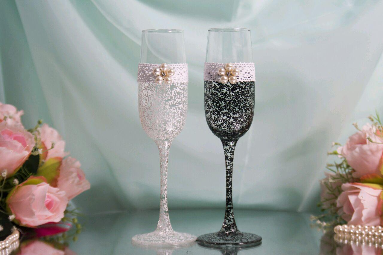 ждут целебный бокалы для шампанского свадебные фото юные скульпторы